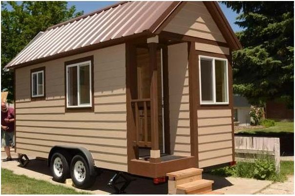 Used Tiny Houses On Wheels For Sale With Its Unique Design And