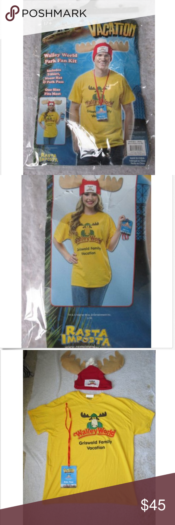 Movie Costume Nat Lampoon Vacation XL Halloween
