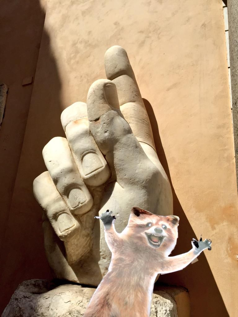 Rory's #1! (In Rome) #WheresRory @TheBloggess