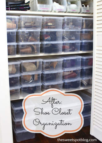 Shoe Closet Organization   The Sweet Spot Blog. Buy Them As A Case Of 20