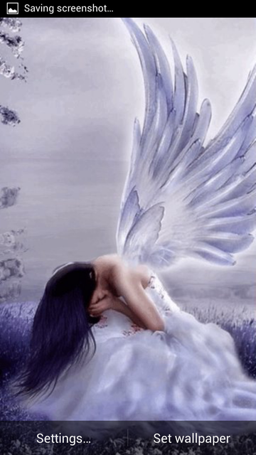 Crying Angel LWP Download Crying Angel LWP 60 Android Free Cool Crying Images Download