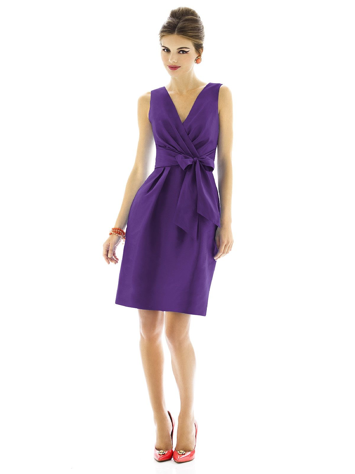 Alfred Sung Bridesmaid Dress D595 | Alfred sung and Wedding