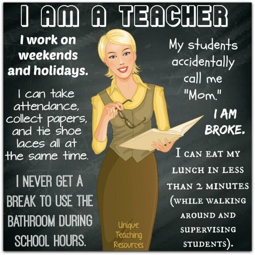 20+ I am a Teacher Quotes, Graphics, and PDF files