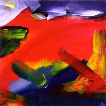 "Saatchi Art Artist Nestor Toro; Painting, ""Fiery Dream"" #art"