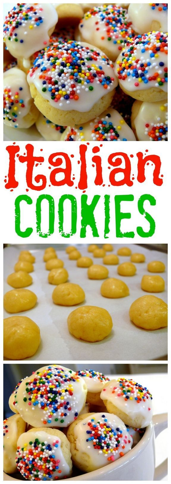 Italian Cookies from NoblePig.com | рецепт | Pinterest
