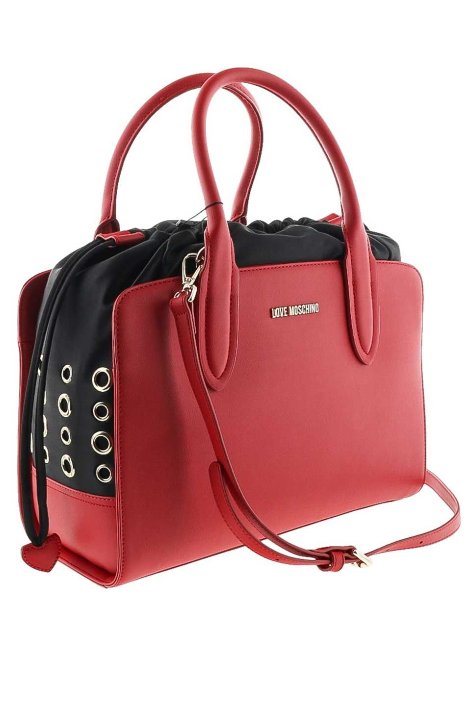 Love Moschino - Amelia Shoulder Bag in Red