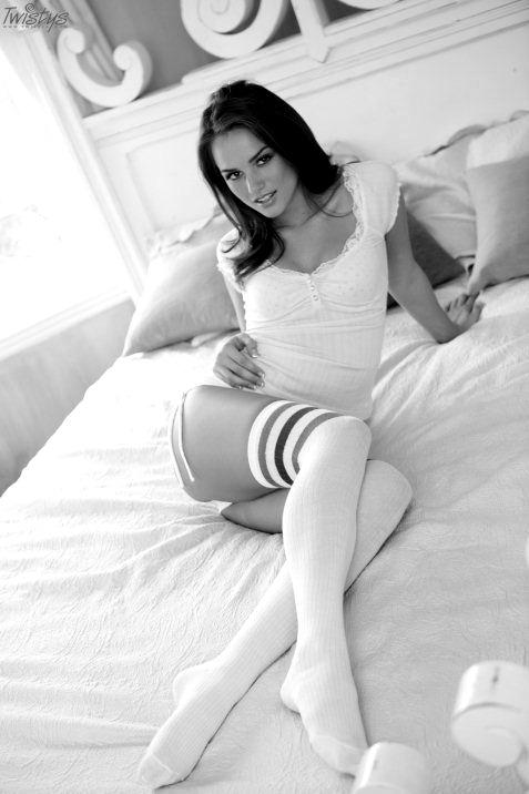 Порно девочки в белом
