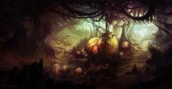 Personal Art: Fantasy environment concept