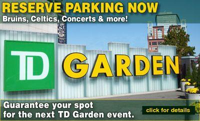 TD Garden Parking | Reserve Parking Online Images