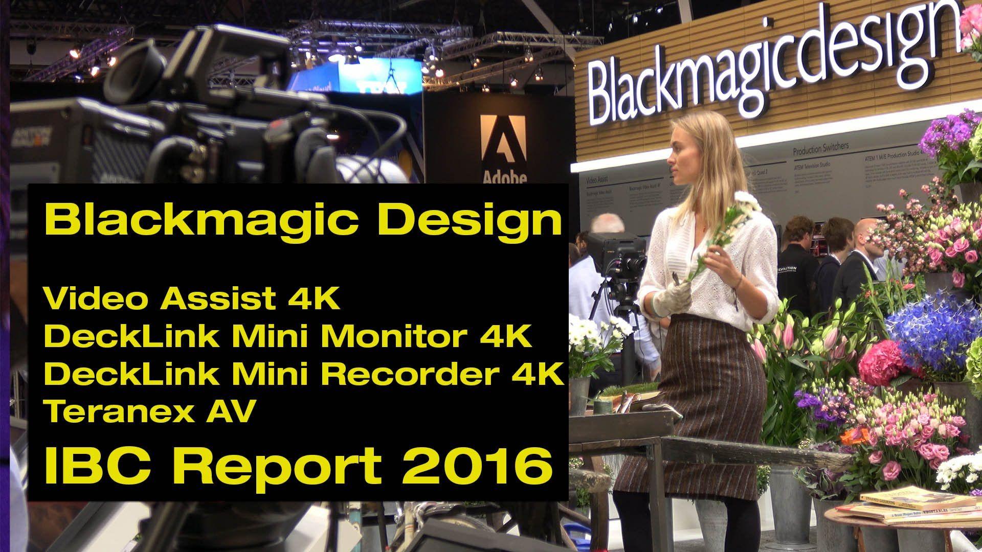 Das Team von magic multi media stellt Ihnen die spannendsten Neuerscheinungen der IBC 2016 vor. Im Gespräch mit Sven Feldmann (Distributor von Blackmagic Des...