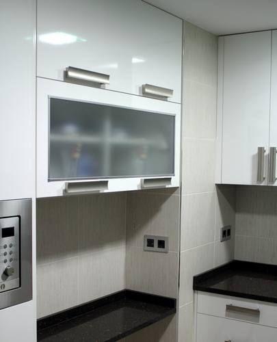 diseño de #cocinas Diseño de cocinas en Getafe modelo Lugo blanco ...