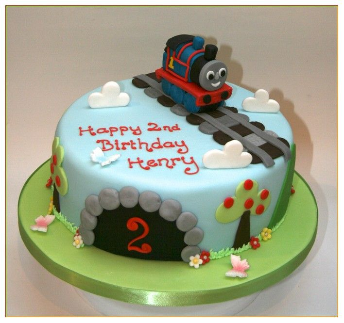 Birthday Party Ideas Cool Thomas The Train Cake