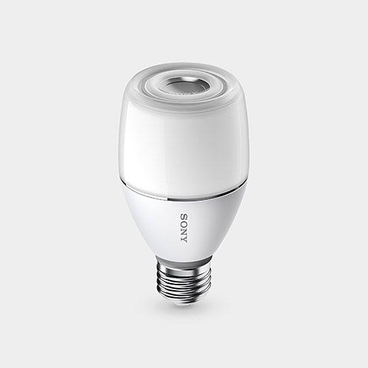 Sony Led Bulb Speaker Moma Sony Design Sony