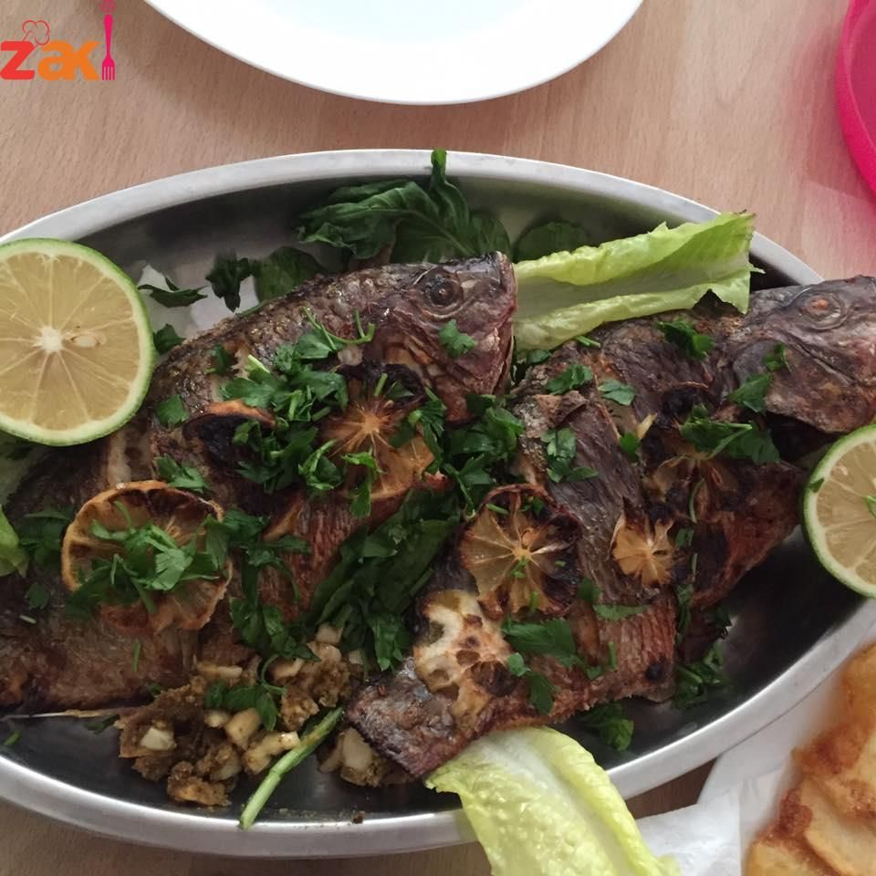 سمك مشوي والطعم فوق الخياااال زاكي Middle Eastern Recipes Food Main Dishes