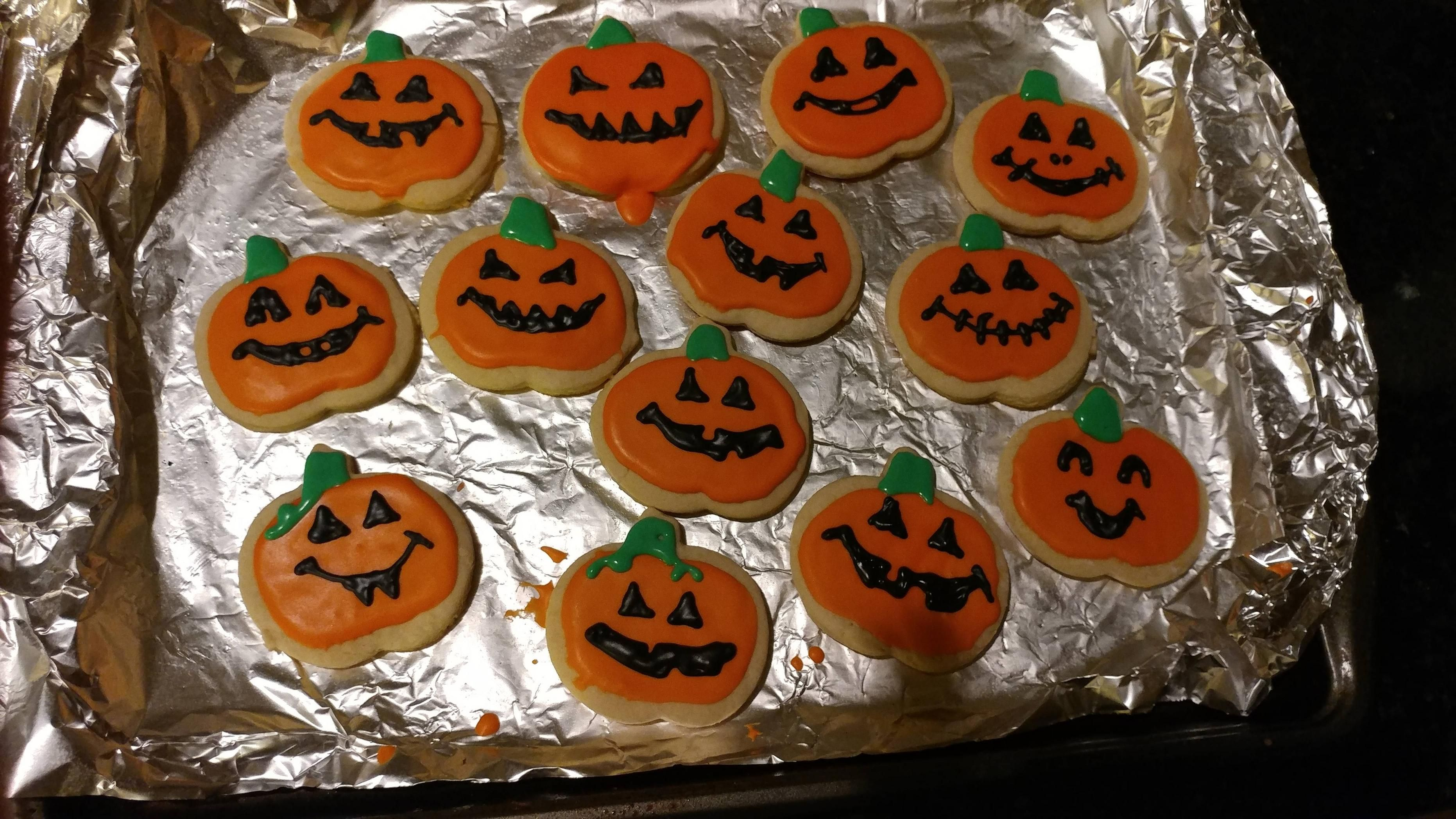 vegan halloween cookies | vegan recipe | pinterest