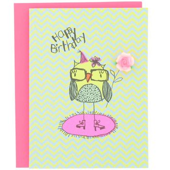 Owl Birthday Card My Obsession With Owls Board Pinterest Owl