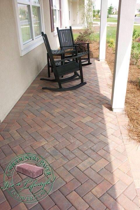 Lowcountry Paver Thin Pavers Are Manufactured Exclusively For Overlaying Existing Concrete Patios Pool Concrete Stain Patio Diy Patio Pavers Concrete Patio