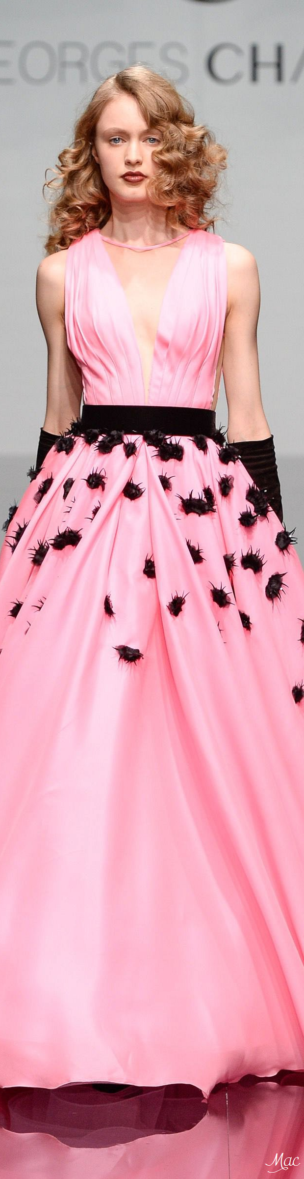 Georges Chakra ~ Fall 2016 Haute Couture Pink Gown | HAUTE COUTURE ...
