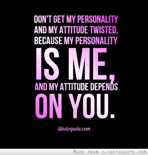 Quotes On Attitude By Famous Personalities