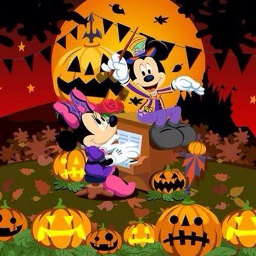 Pin by Kim Stocker on Mickey and Minnie | Mickey halloween, Mickey mouse  halloween, Halloween countdown