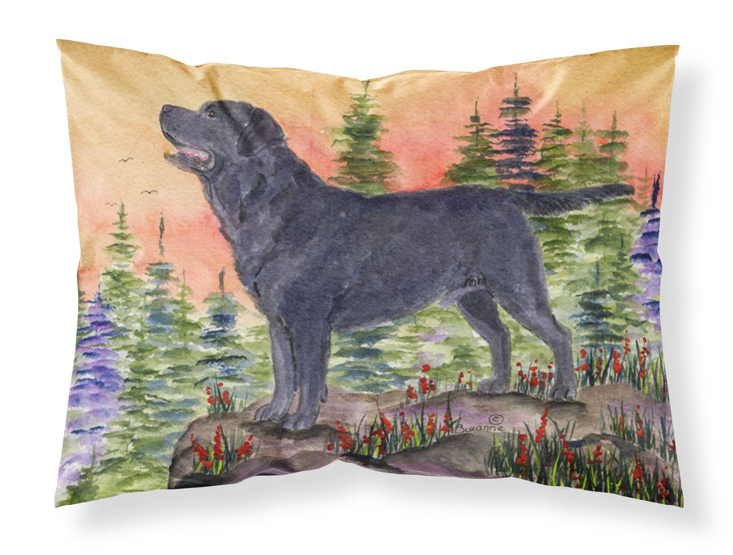 Labrador Moisture wicking Fabric standard pillowcase