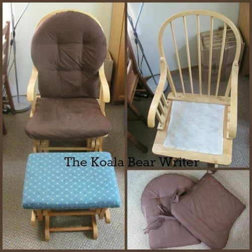 Captivating I Share How To Re Upholster A Glide Rocking Chair And Stool, Based On My  Recent Attempt To Refurbish Some Second Hand Furniture.