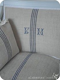 Feed Sack Chair Cover For The Home Pinterest Feed