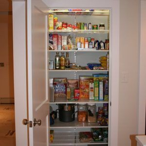 Shelving · Adjustable Pantry Shelving System
