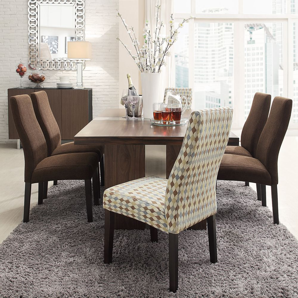INSPIRE Q Marcey Diamond Impressions Wave Back Dining Chair (Set of 2) by  iNSPIRE Q