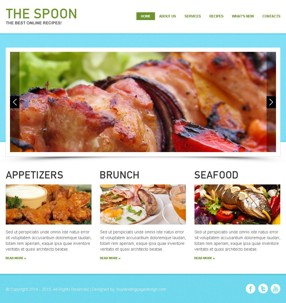 Attractive and appealing best online recipes html website template attractive and appealing best online recipes html website template forumfinder Images
