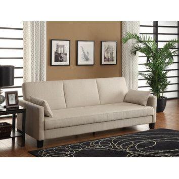 10 Spring Street Ashton Microfiber Sofa Bed Sand Sofa Bed Sofa Bed Sale Sofa Bed Walmart