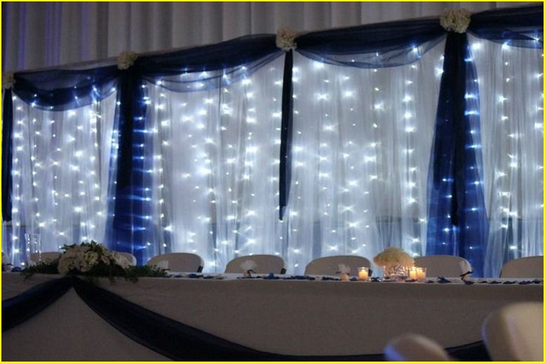 good 20 romance ideas with silver and blue wedding decorations dances wedding decorations. Black Bedroom Furniture Sets. Home Design Ideas
