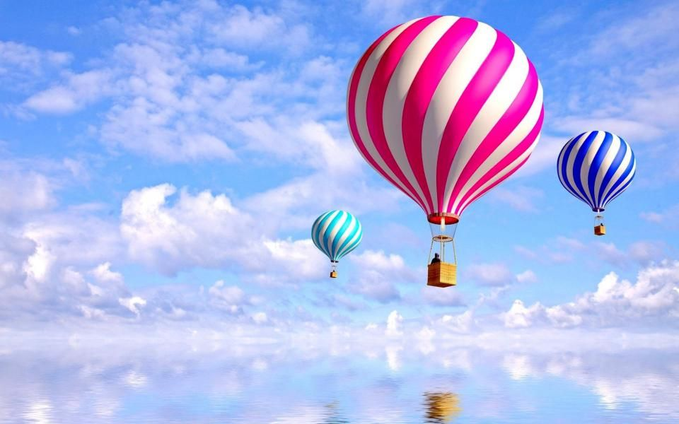 / Gallery Colourful Air Balloons Wallpaper