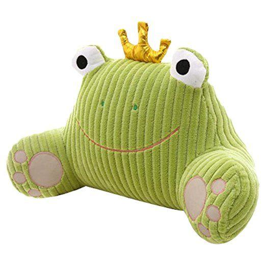mlotus novelty frog back cushion lumbar
