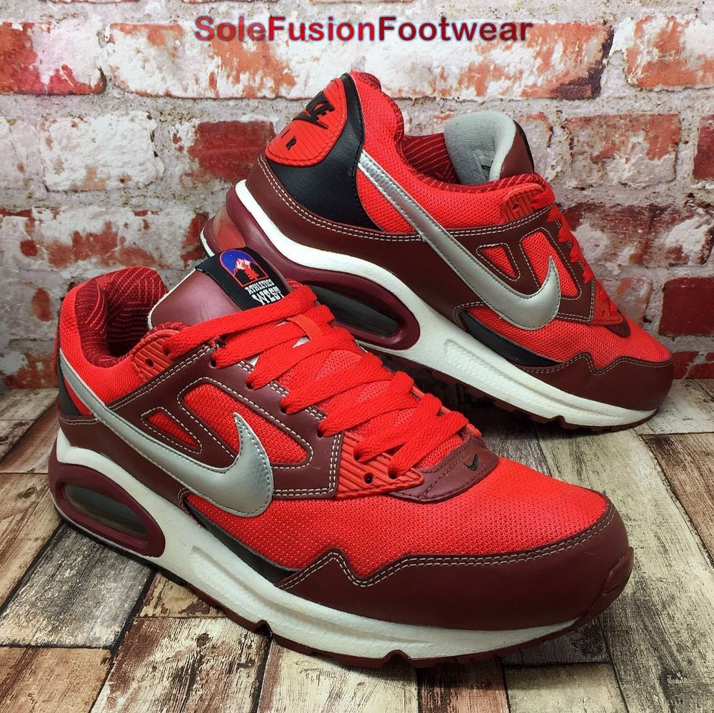 Nike Mens AIR MAX Skyline Trainers Red size 9 Rare LTD