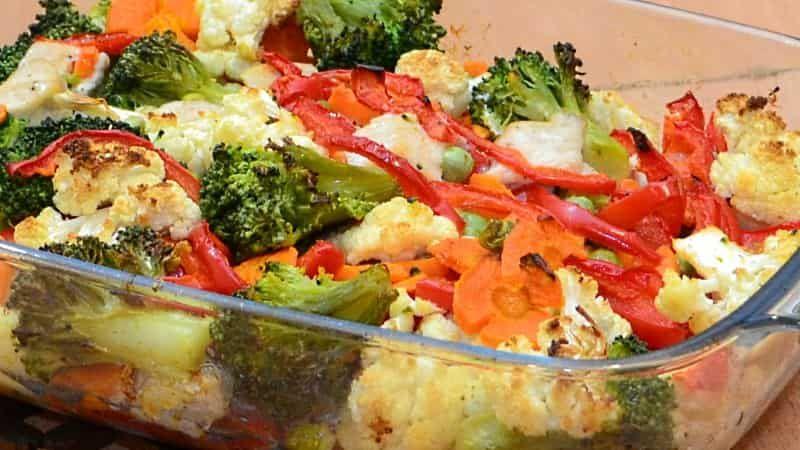 Рецепты с куриной грудкой в духовке с овощами рецепт пошаговый 20