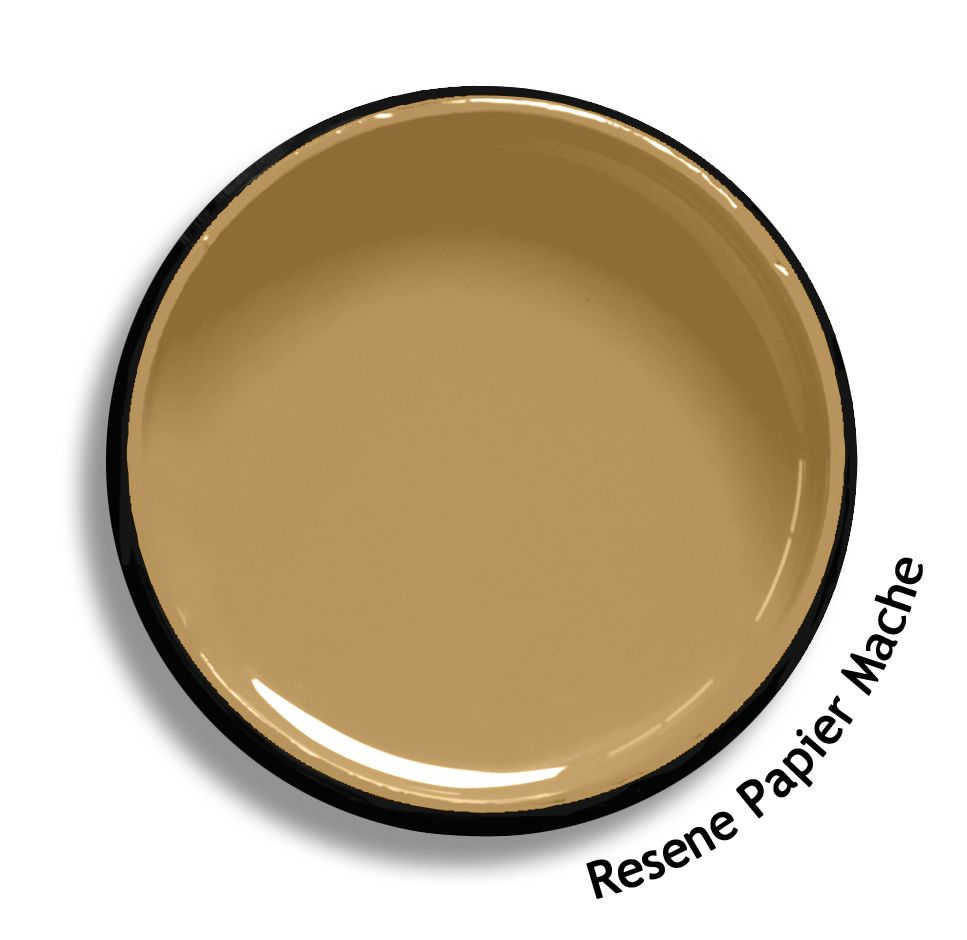 Resene Papier Mache is a soft leathery tan. From the Resene Multifinish colour collection. Try a Resene testpot or view a physical sample at your Resene ColorShop or Reseller before making your final colour choice. www.resene.co.nz