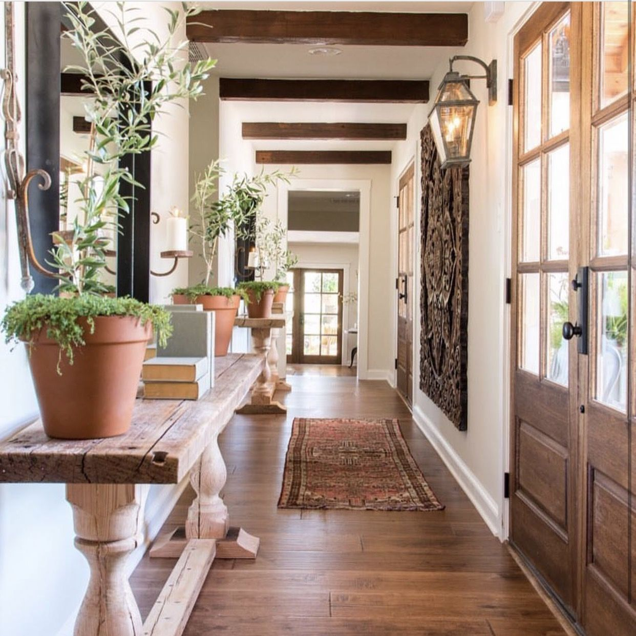Designs By Joanna Gaines Of Hgtv Fixer Upper Owner Of: Gorgeous Entryway By Joanna Gaines From HGTV's Fixer Upper