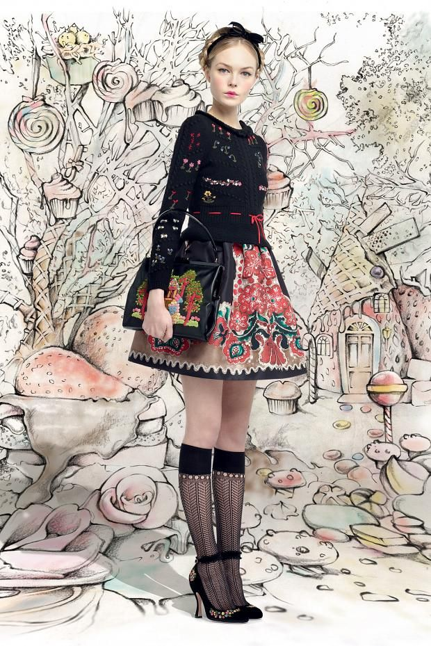 Red Valentino's fall fairytale