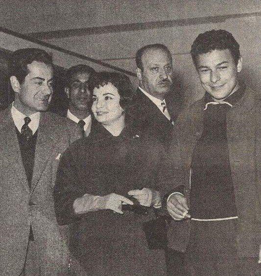 احمد رمزي شادية وفريد اﻻطرش Egyptian Actress Classic Actresses Egypt History