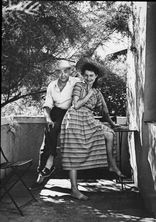Brassaï: Brassaï et Gilberte dans les Pyrénées, été 1945