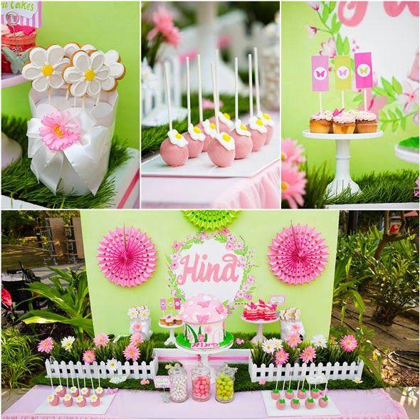 fiesta de cumpleaos en el jardn de mariposas fiestas infantiles decora