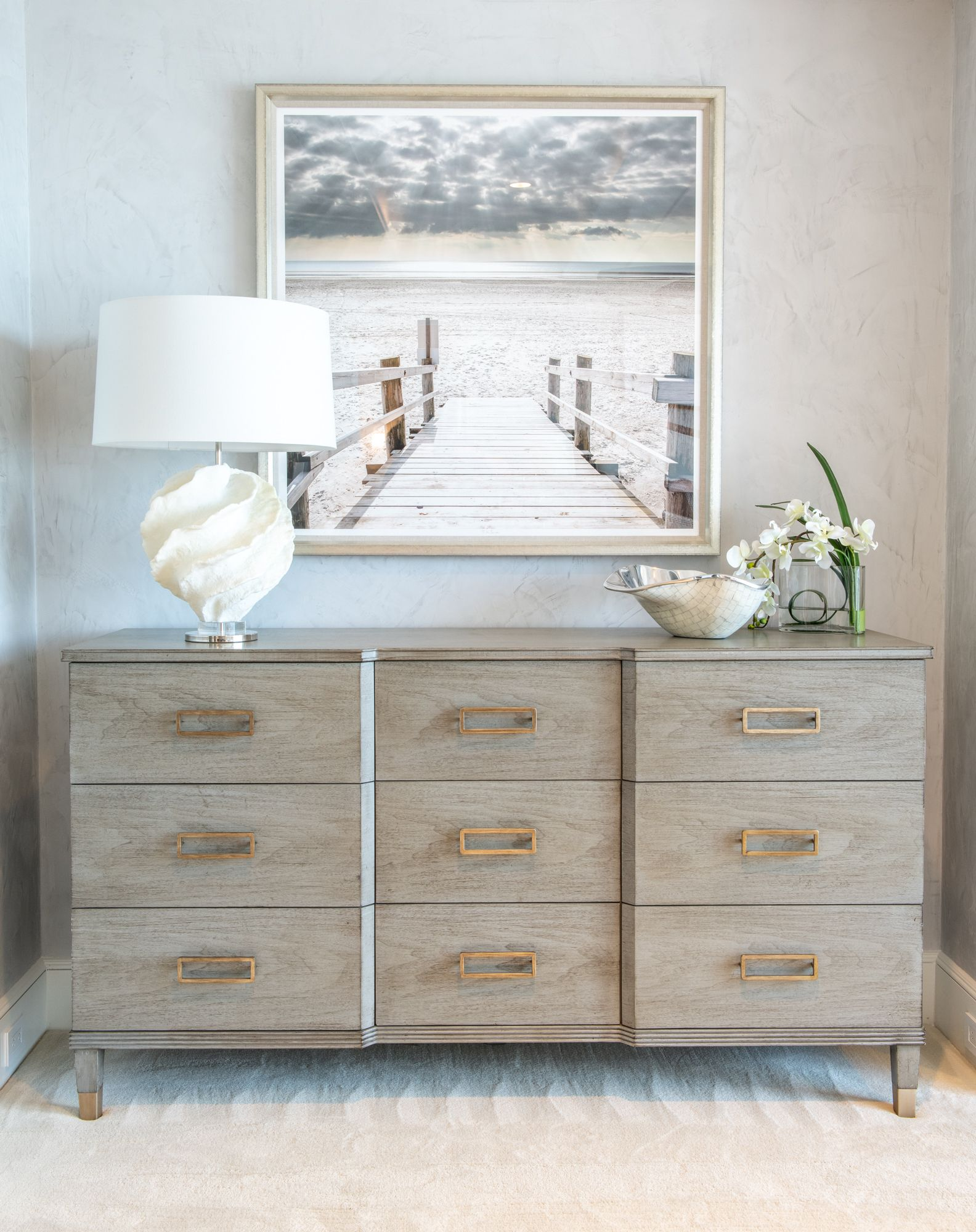 Coastal Elegance Master Bedroom Accessories and Dresser ...