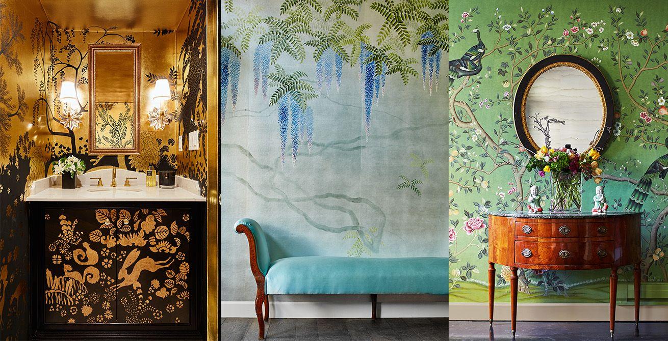 De Gournay (home furnishing), Chelsea Interior wallpaper