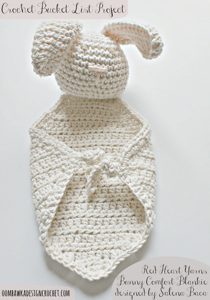 Bunny Comfort Blankie - CBL Project | Pinterest