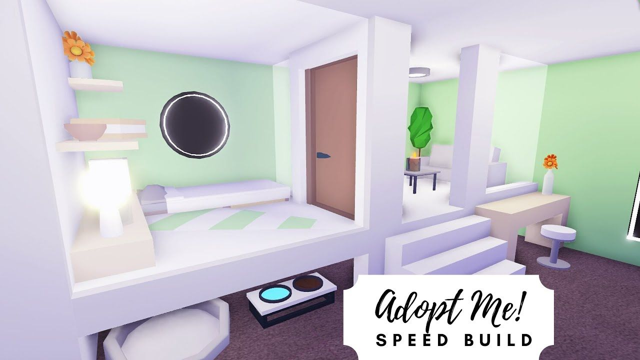 Tiny Home Mint Budget Home Roblox Adopt Me In 2020 Home Roblox Cute Room Ideas Cute Bedroom Ideas