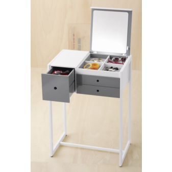 Bon A Small Sized CB2 Vanity Table. Donu0027t Like The Gray Part And The Price  Though
