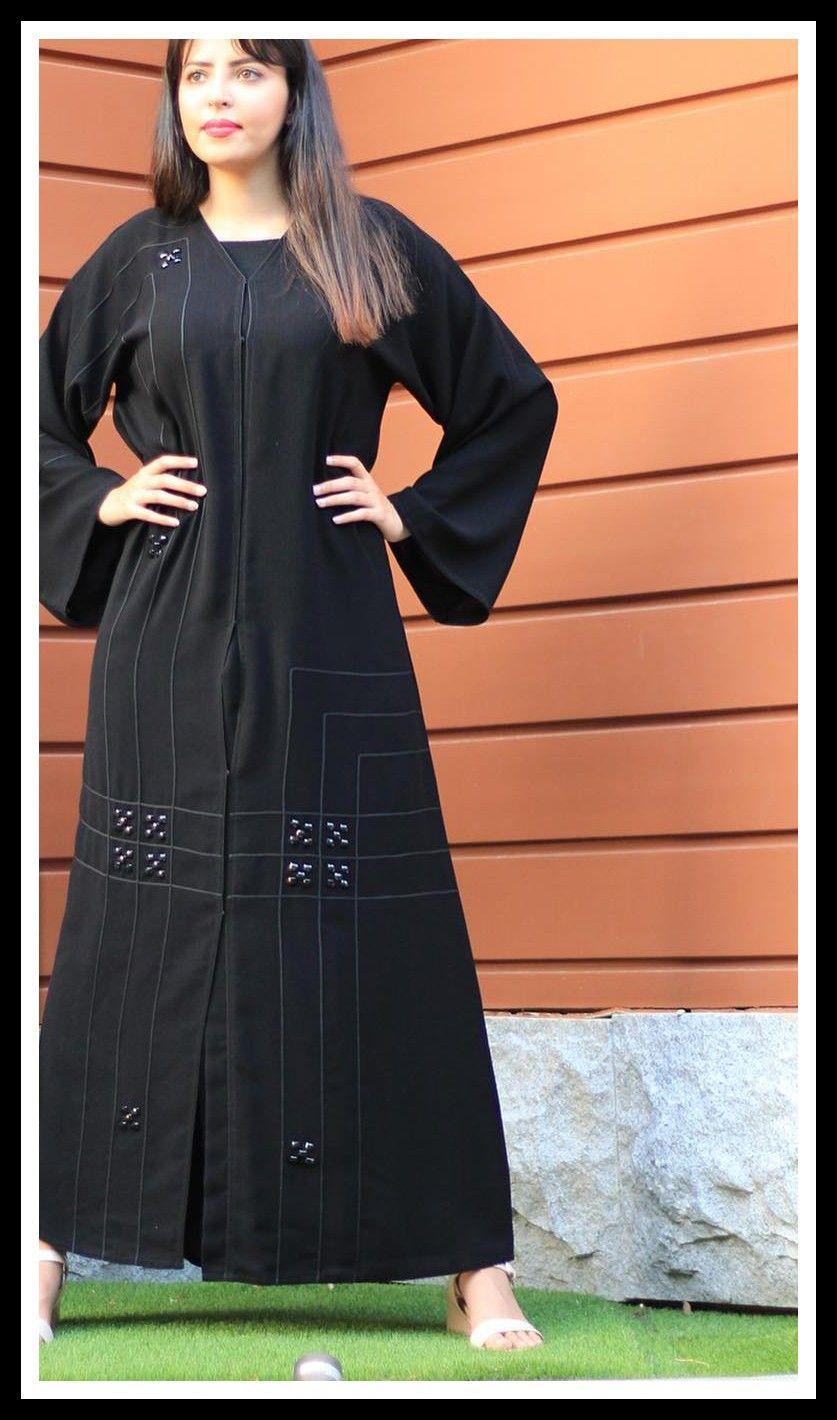 عبايات خليجية فخمة ورائعة Fashion High Neck Dress Dresses