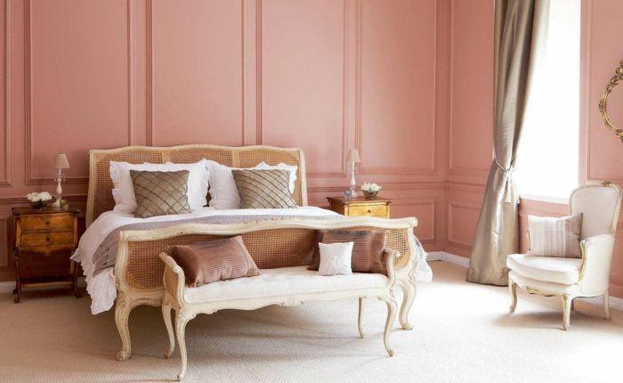 ▷ 1001 + Ideen für Altrosa Wandfarbe zum Genießen Wandgestaltung