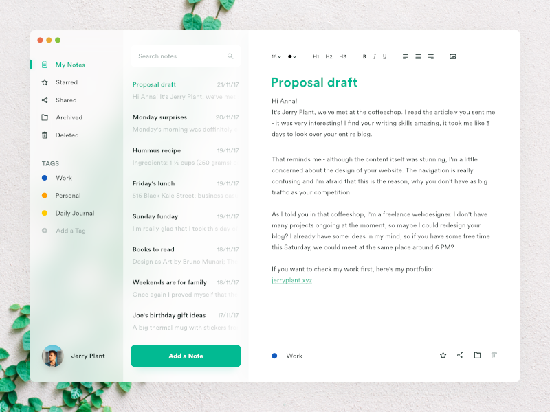 A Fluent(ish) Note Taking Desktop App Best notes app